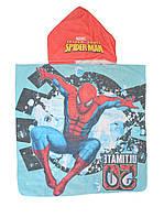 Полотенце с капюшоном детское с Человеком пауком