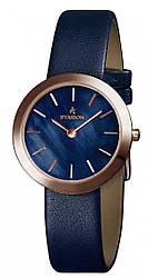 Годинник жіночий STARION J064 R/Blue синій рем.