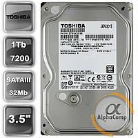 "Жесткий диск 3.5"" 1Tb Toshiba DT01ACA100 (32Mb/7200/SATAIII) БУ"