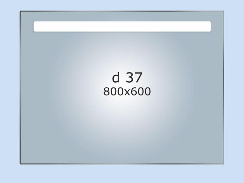 Зеркало LED (80*60*3см) PR-D37
