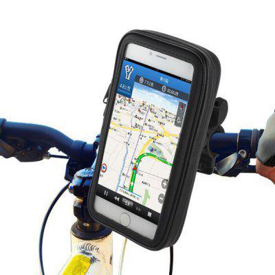 Влагозащитный чехол-держатель для телефона с креплением на руль велосипеда