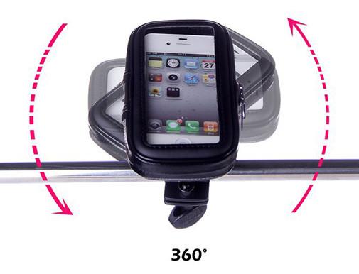 Чехол-держатель для телефона с креплением на руль велосипеда