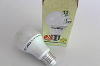 Лампа светодиодная 10W E27 (Груша) 3000K