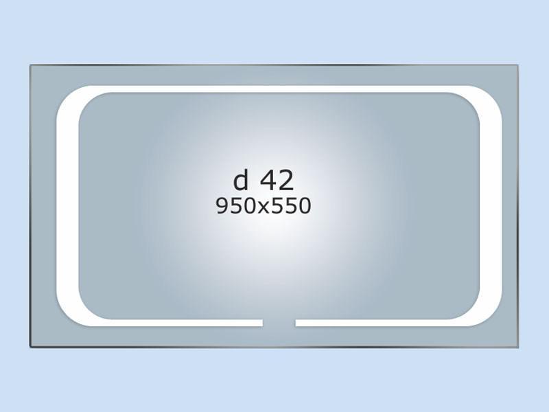 Зеркало LED (95*55*3см) PR-D42