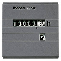 Счетчик моточасов BZ 142-1 24V (48х48мм), панельный, Theben, th 1424721