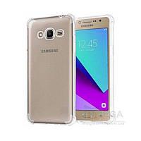 Противоударный TPU чехол для Samsung Galaxy J2 Prime (G532) прозрачный Armor, фото 1
