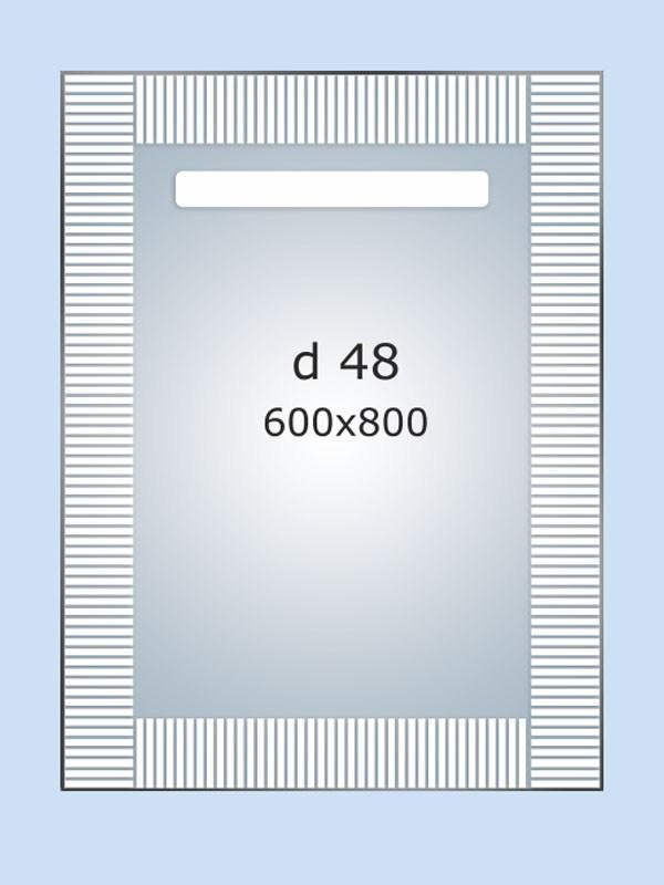Зеркало LED (60*80*3см) PR-D48