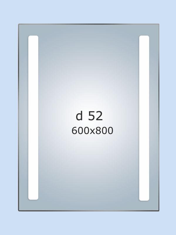 Зеркало LED (60*80*3см) PR-D52