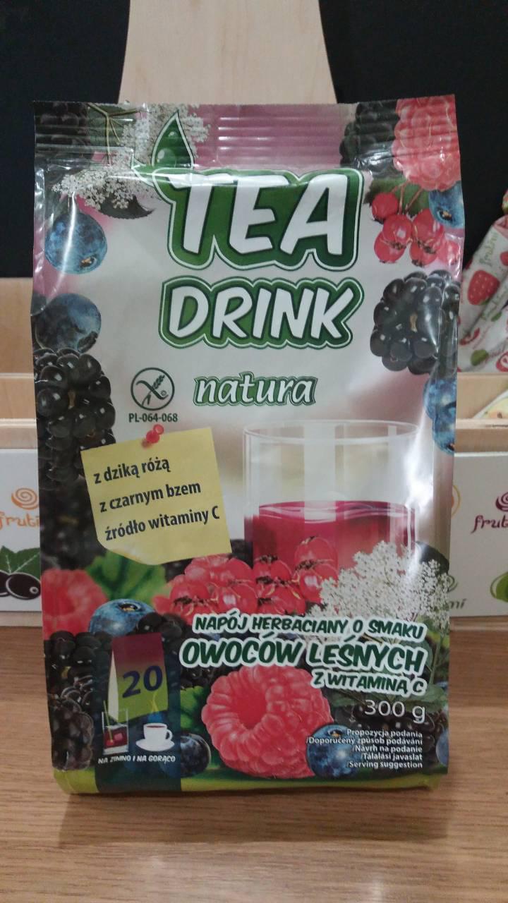 Чай растворимый Tea Drink Natura с ароматом лесных ягод 300г