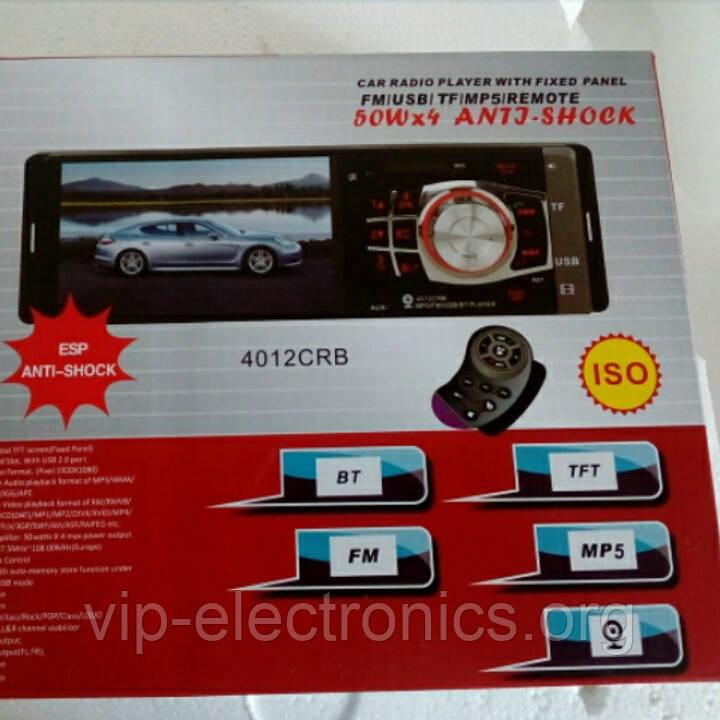 """Автовидеомагнитола Pioneer 4012 SD.MMC CARD/USB MP-5   4*50W  TFT4,1""""+рульове управління"""