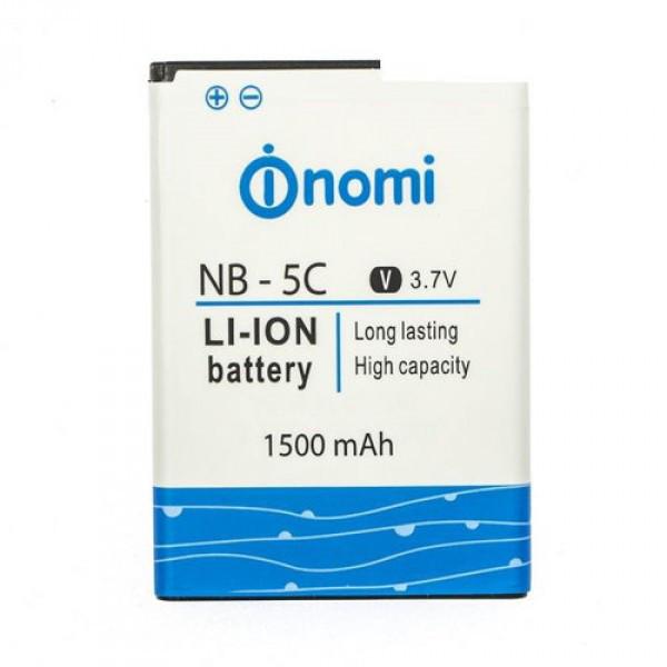 Аккумулятор Nomi NB-5C (Nomi i182), 1800 mAh Оригинал