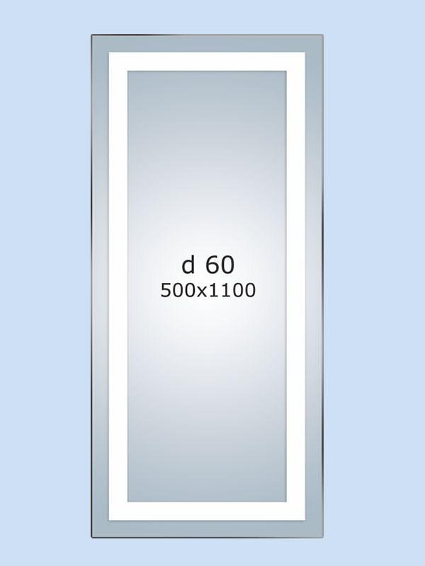 "Зеркало LED (50*110*3см) ""JANVIER"" PR-D60"