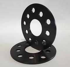 Алюминиевые колесные проставки 5 мм