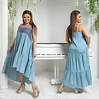 """Платье больших размеров """" Штапель """" Dress Code, фото 1"""