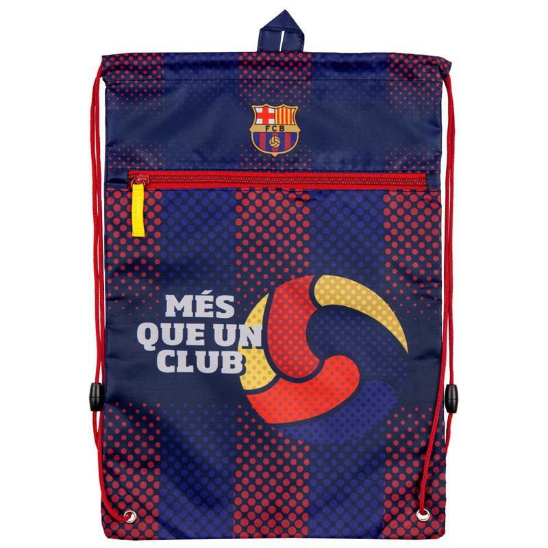 Сумка для взуття з кишенею Kite FC Barcelona BC18-601M