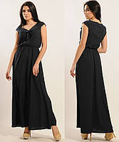 Длинное платье в пол макси сарафанлегкоеженскоелетнее шифоновое