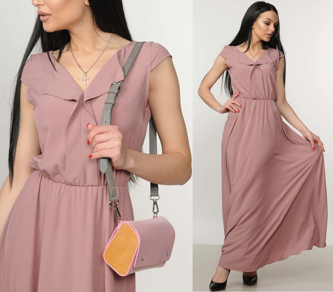 dbd8374d36d Купить Длинное платье в пол макси сарафан легкое женское летнее ...