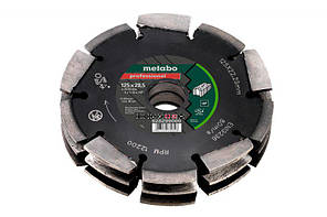 Алмазный универсальный фрезеровальный круг Metabo Professional CD3 UP 125x28.5x22.23 мм