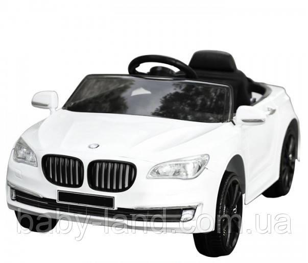 Електромобіль дитячий акумуляторний T-7615 BMW, білий