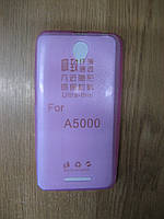 Чохол силіконовий Lenovo A5000 (Pink)