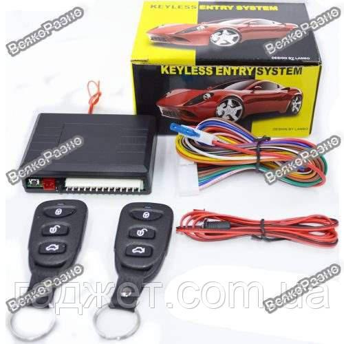 Комплект центрального замка в авто.Модуль дистанционного управления центральным замком Keyless Entry System.