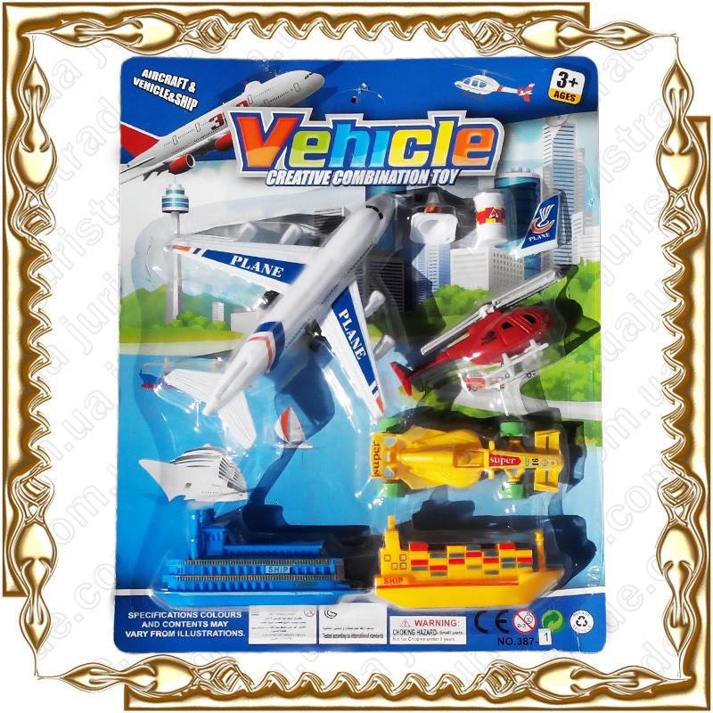 Набор техники Vehicle 7 шт.  №387