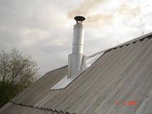 Крыза для дымохода из нержавеющей стали AISI 304, фото 2