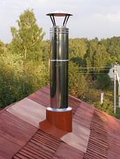 Крыза для дымохода из нержавеющей стали AISI 304, фото 3