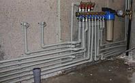 Прокладка металлопластиковых труб водоснабжения