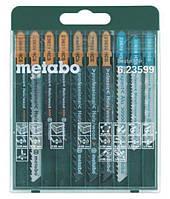 Набор пилочек для лобзика Metabo 10 шт Promotion