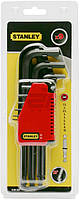 Набор ключей шестигранных Stanley Standart 1,5-10 мм 0-69-256