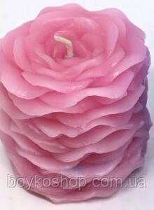 Силиконовая форма из лепестков роз свечи/мыло