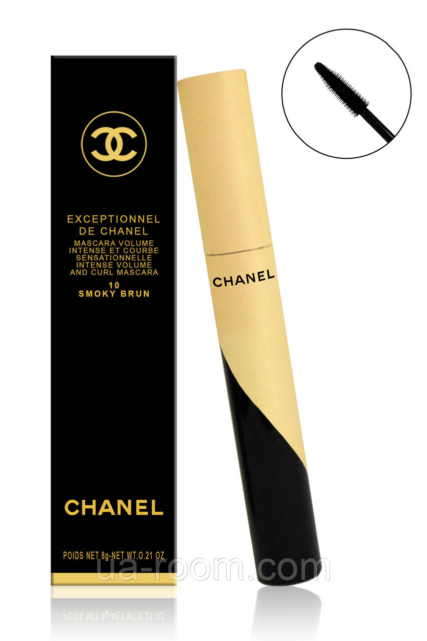 Тушь для ресниц Chanel Exceptionnel de Chanel 10 Smoky Brun CH2002