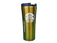Термокружка Starbucks 500 мл. металлическая Белый