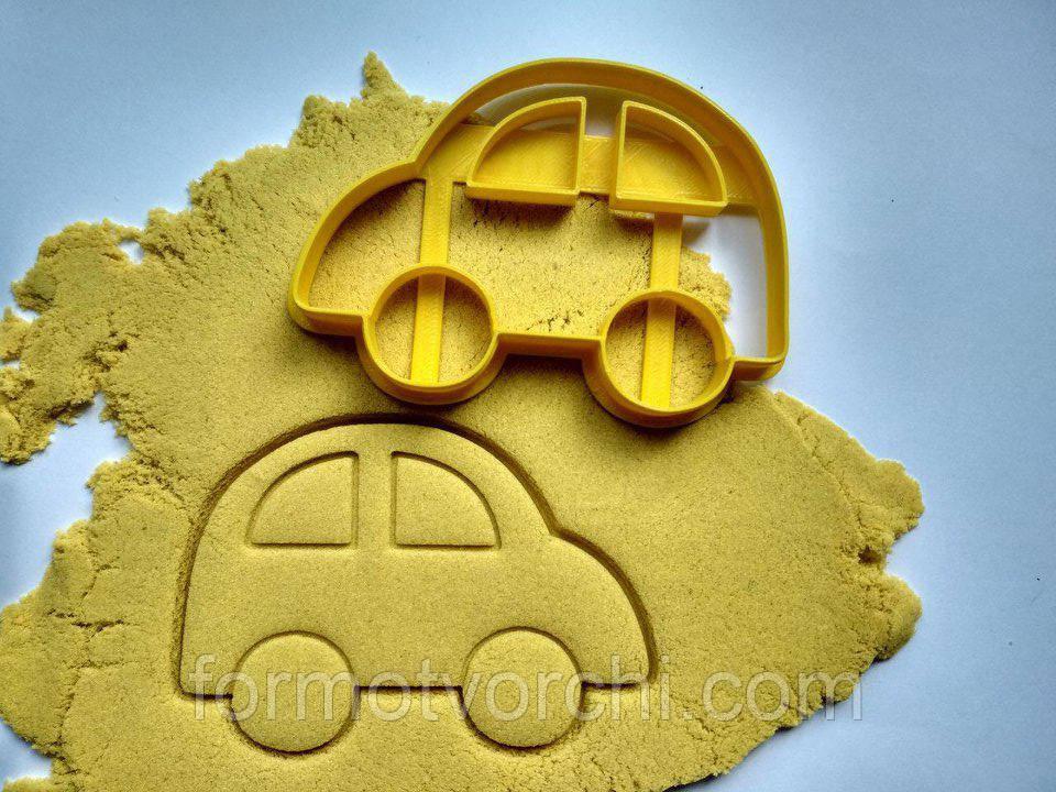 """3D формочки-вырубки для пряников """"Машинка 1"""""""