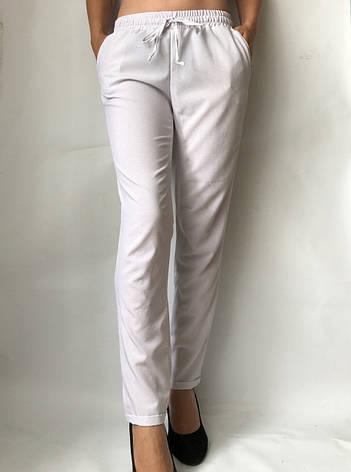 Женские летние штаны N°17 Белый, фото 2