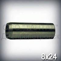 Штифт 8х24 DIN 7978 (ГОСТ 9464-79, ISO 8736) конический с резьбой