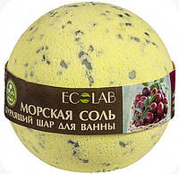 Бурлящий шар для ванны Черная смородина и Клюква EcoLab