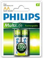 Аккумулятор АА Philips MultiLife 2700 mAh (1 шт.)