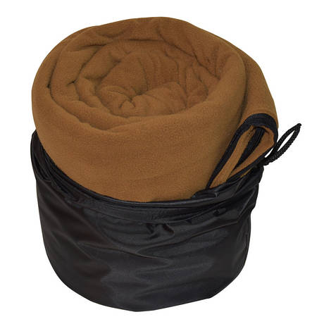 Спальный мешок (вкладыш для спальника) Champion флисовый, цвет кайот