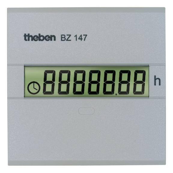 Счетчик моточасов BZ 147, 110-240 B AC, в панель (48х48мм), Theben, th 1470000