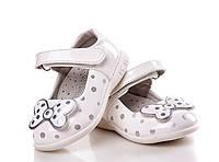 Обувь для девочек, детские туфли белые, Apawwa (Румыния)