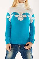 Зимний свитер Восточный