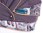 Коляска 2 в 1 Adamex Aspena World Collection  cars, фото 4