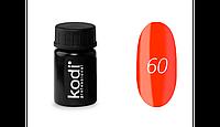 Гель-краска Kodi Professional №60 оранжевая