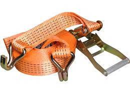 Стяжные ремни (стандарт) Нагрузка 5т Ширина 50мм Длина 5м