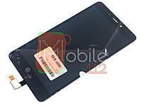 Модуль для Xiaomi Redmi Note 4 MediaTek (Дисплей + тачскрин), чёрный оригинал PRC