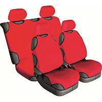 Майки на сиденье автомобиля Beltex Cotton 4шт (без подголовников) красный