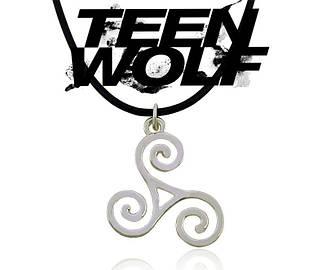 Кулон Трискель Трискелион Сериал Волчонок Teenwolf