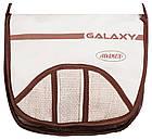 Коляска трансформер Adamex Galaxy Drifting (поворотные колёса)  шоколад-бежевый-шоколад плетение, фото 3